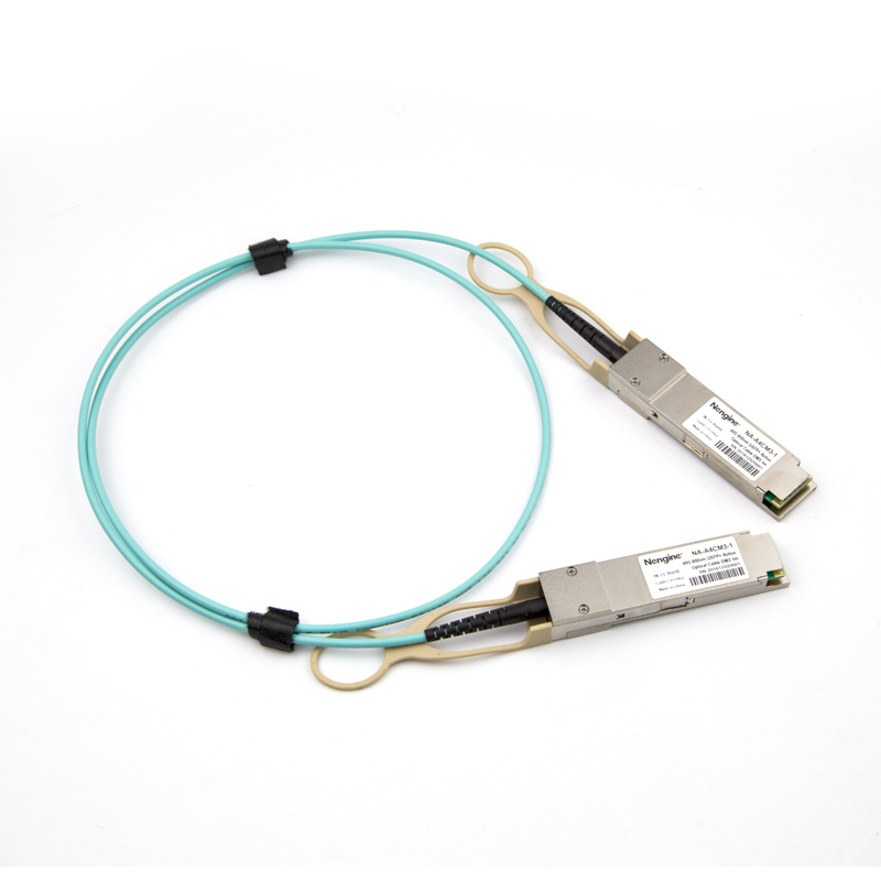 Customized 40G QSFP+ Active Optical Cable OM3