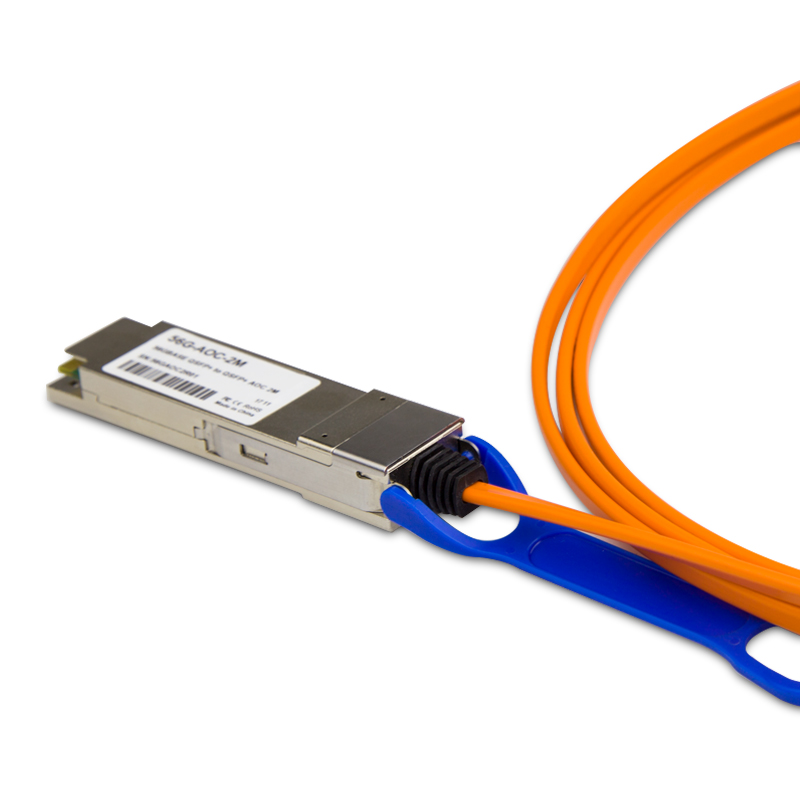 Customized 56G QSFP+ Active Optical Cable OM3